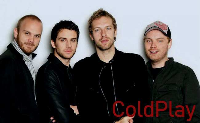 éxitos de ColdPlay